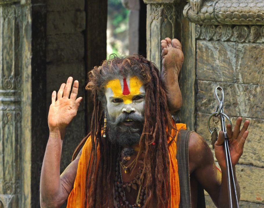 Nepal homme sadhuk
